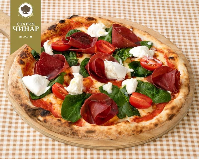 пица Брезаола