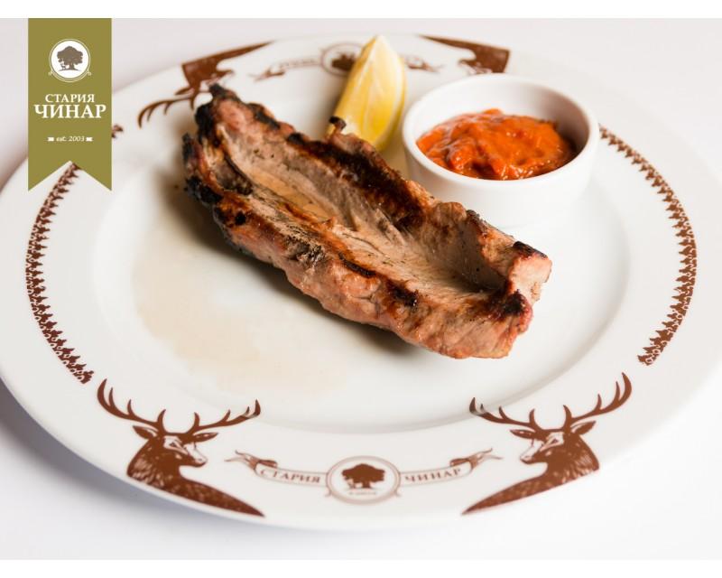 Veshalitsa from pork tenderloin