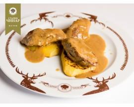 Pork tenderloin with mustard