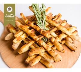 Breadsticks with poppy seeds